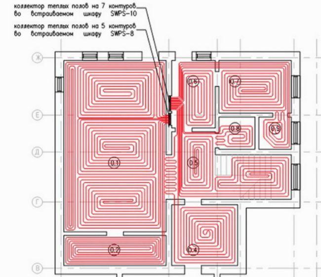 Водяной теплый пол под плитку – варианты устройства и инструкция по монтажу