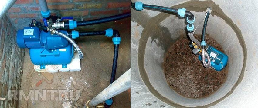 Насосная станция для колодца - выбор места установки, оборудования и порядок монтажа