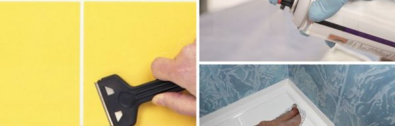 Чем отмыть герметик: как отчистить одежду, оттереть руки и удалить силиконовый состав с кафеля