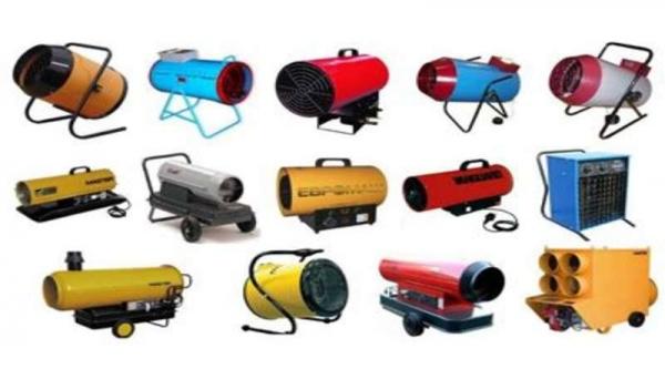 Выбираем тепловую пушку: электрическая, дизельная, газовая, многотопливная