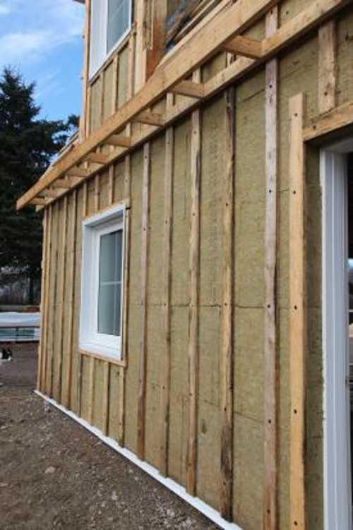Пошаговая инструкция наружной теплоизоляции бревенчатого дома