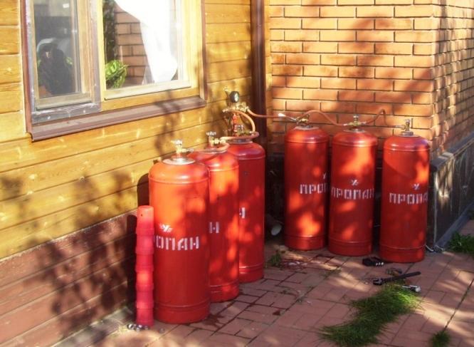 Использование газовых котлов на баллонном газе