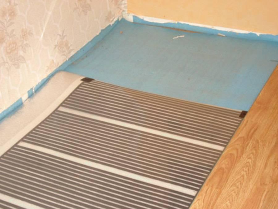 Инфракрасный теплый пол под ламинат: какой выбрать ламинат и монтаж инфракрасного теплого пола