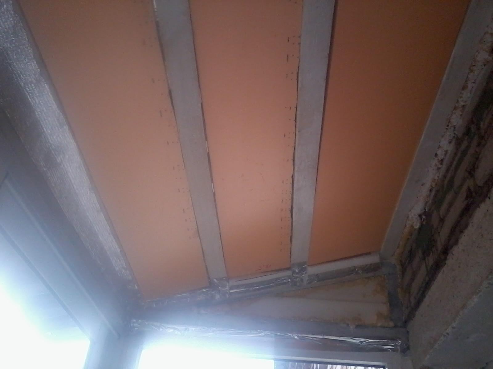 Сделать потолок на балконе за 1 день - подробная инструкция!