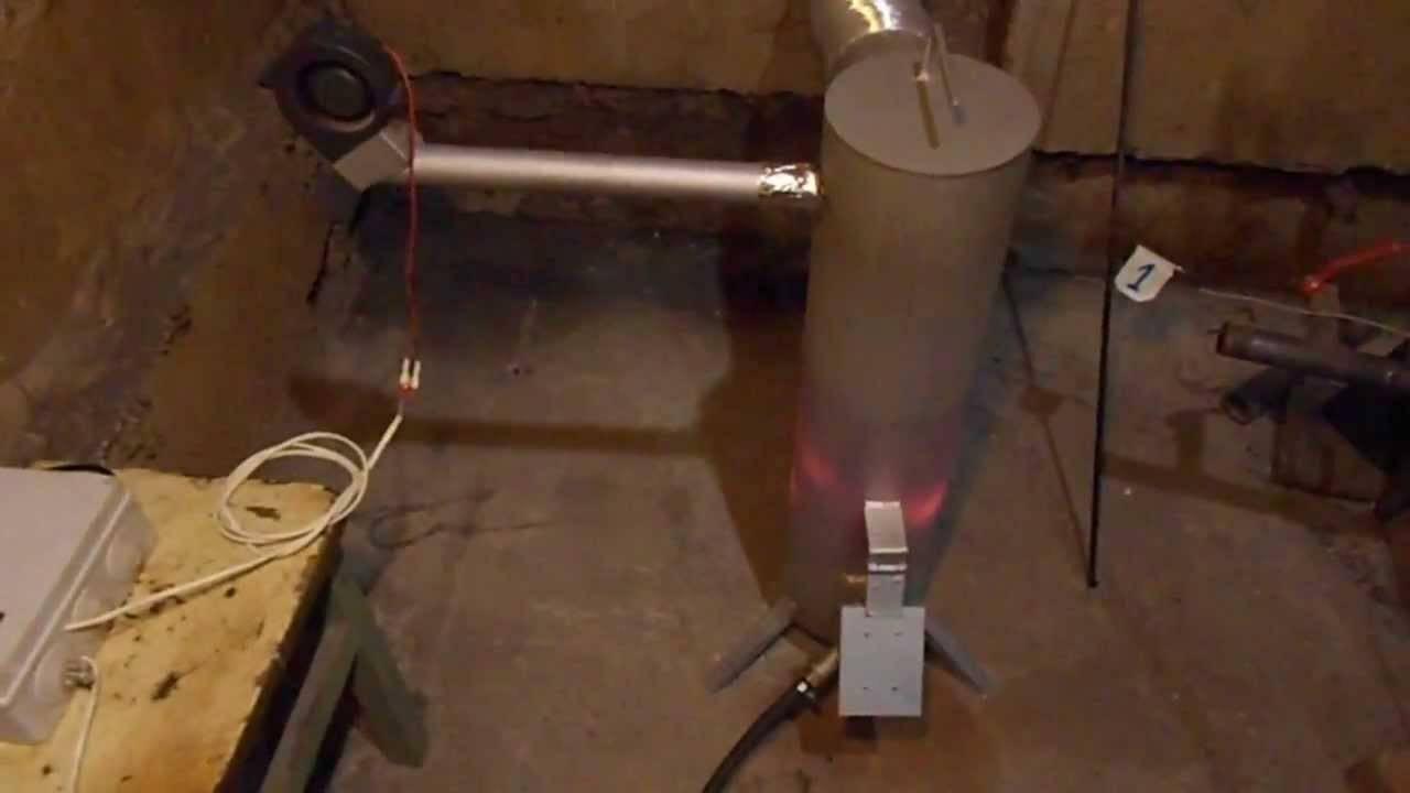 Котёл с водяным контуром на отработанном масле. чертежи и инструкция по изготовлению своими руками