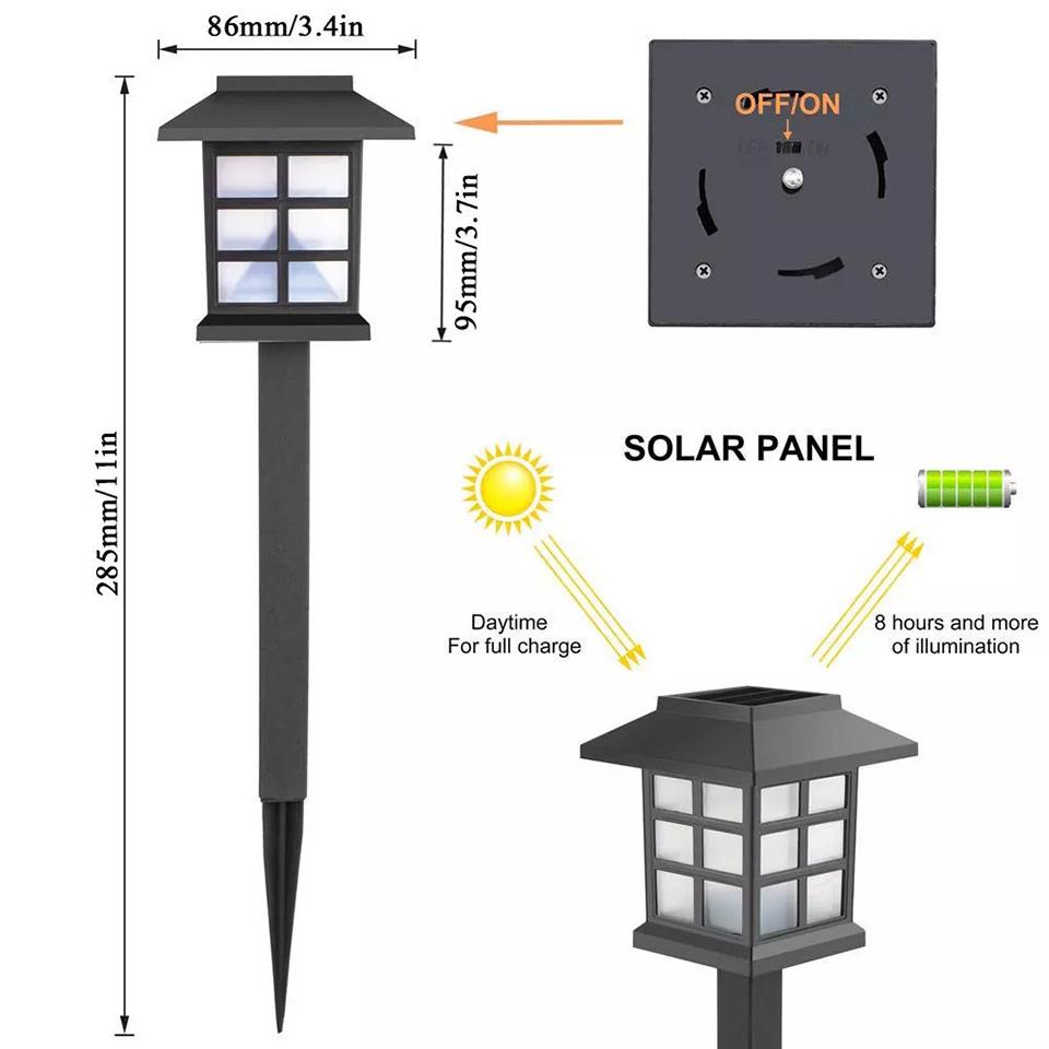 Солнечные светильники - грамотный выбор и применение (110 фото)