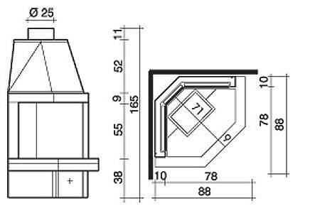 Что такое печь-камин и как объединяются два разных устройства