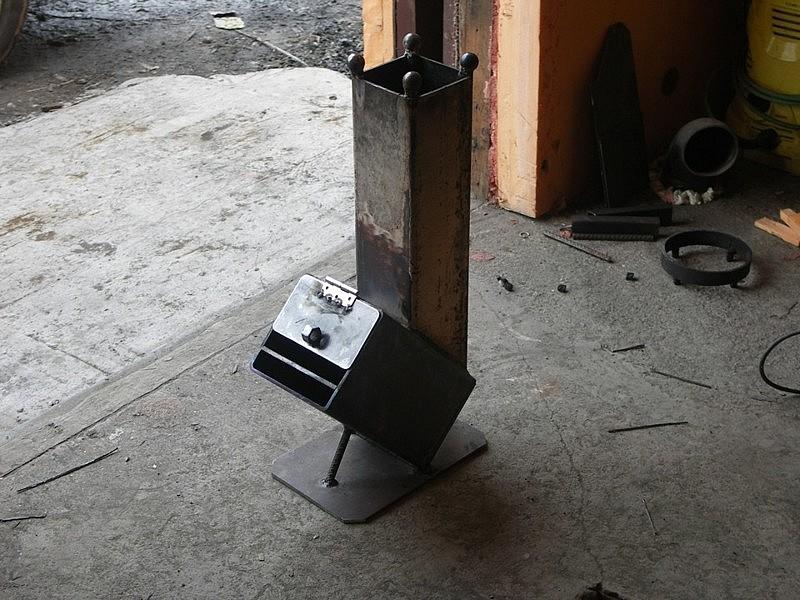 Печь-ракета для обогрева дома своими руками: порядовка