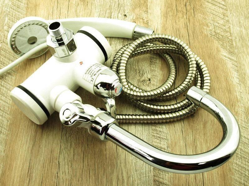 Проточный электрический водонагреватель на душ: ориентиры выбора
