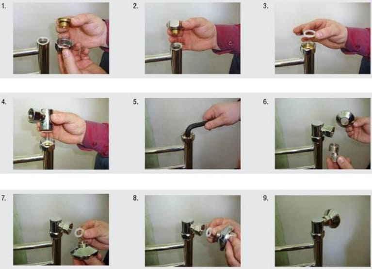 Как поменять полотенцесушитель в ванной своими руками - только ремонт своими руками в квартире: фото, видео, инструкции