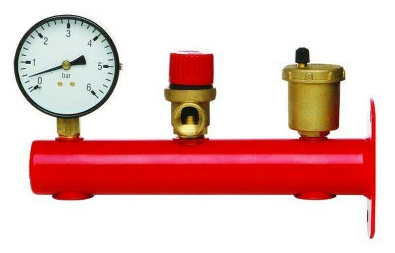 Из чего состоит группа безопасности для отопления – принцип работы, установка