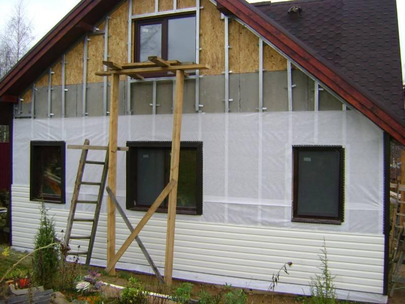 Какой утеплитель лучше для обшивки стен снаружи дома под сайдингом