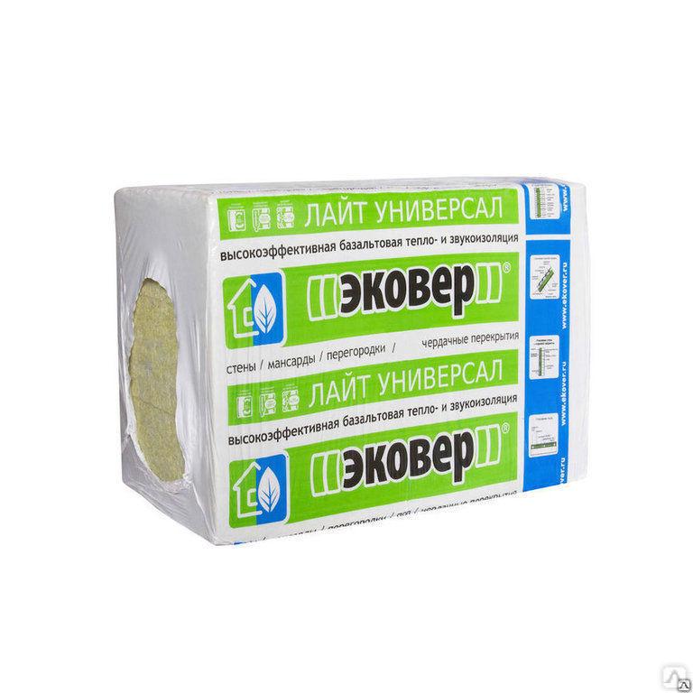 Базальтовая теплоизоляция марки ekover