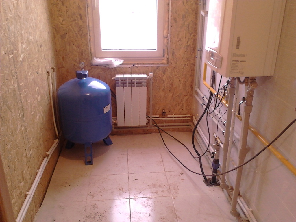 Отопление сип домов