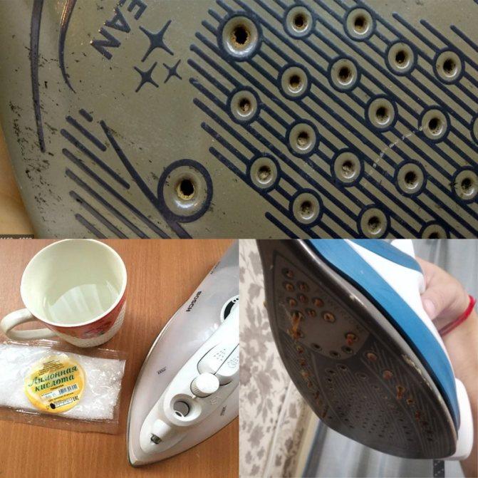 Как почистить подошву утюга с керамическим покрытием: чем удалить нагар в домашних условиях