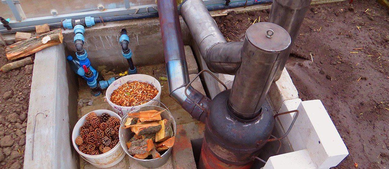 Бубафоня печь длительного горения: как сделать своими руками из газового баллона, схема и чертеж