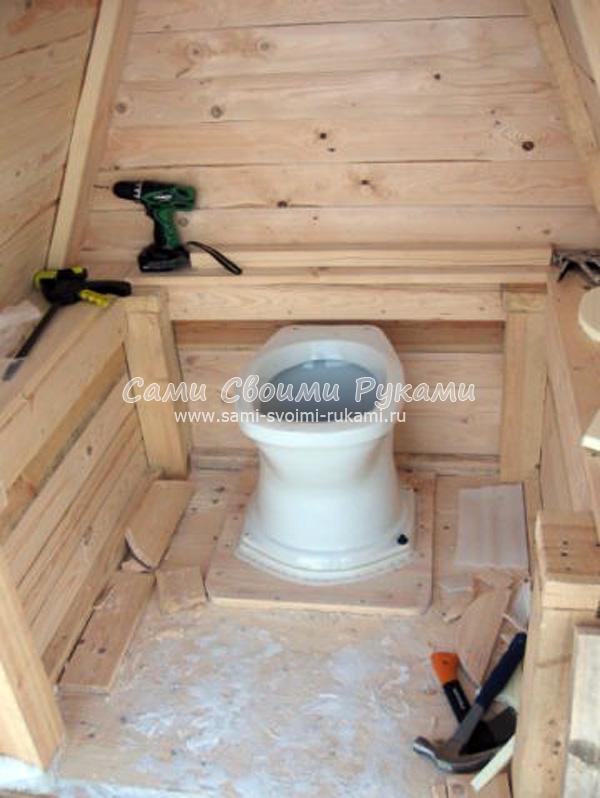 Дачный унитаз: обзор видов садовых моделей для дачного туалета и особенностей их установки