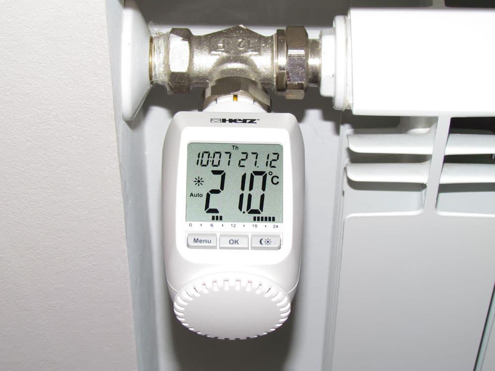 Терморегулятор для радиатора отопления: принцип работы устройства и подключние