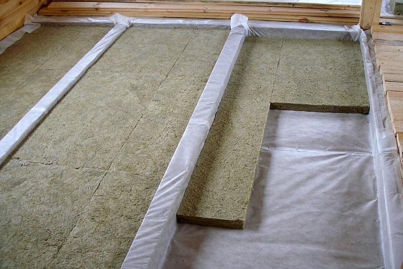 Теплоизоляция пола на даче: варианты утепления и материалов
