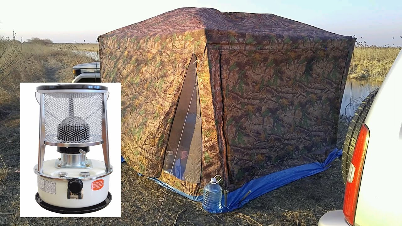 Газовый обогреватель для палатки: виды, модели, отзывы, цены