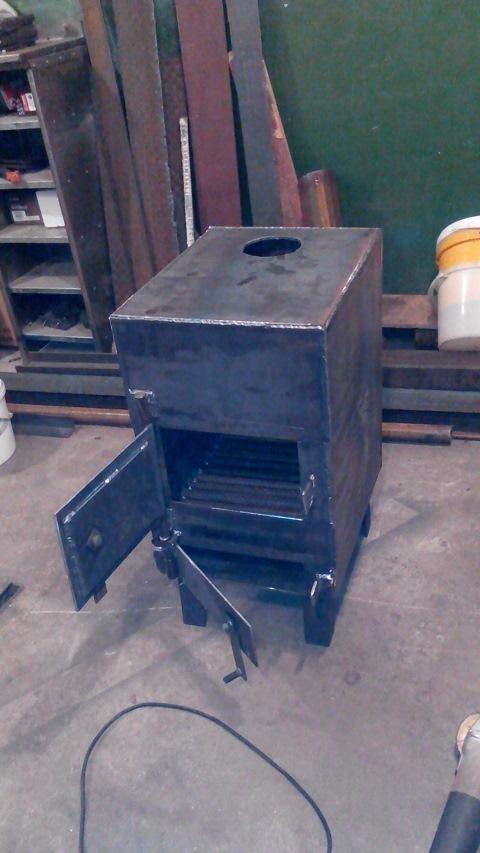 Кирпичная печь на дровах в гараж своими руками: изготовление, фото, достоинства