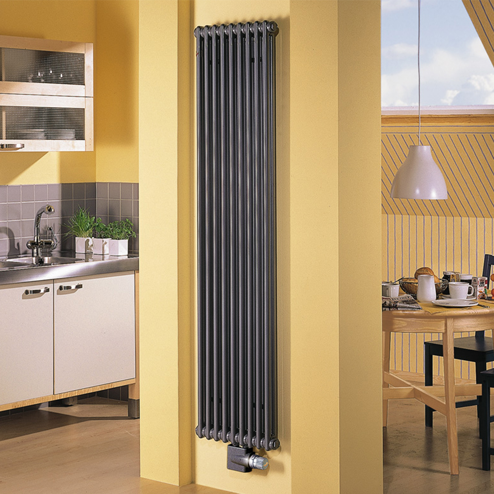 Вертикальные радиаторы отопления: выбор, установка, дизайн