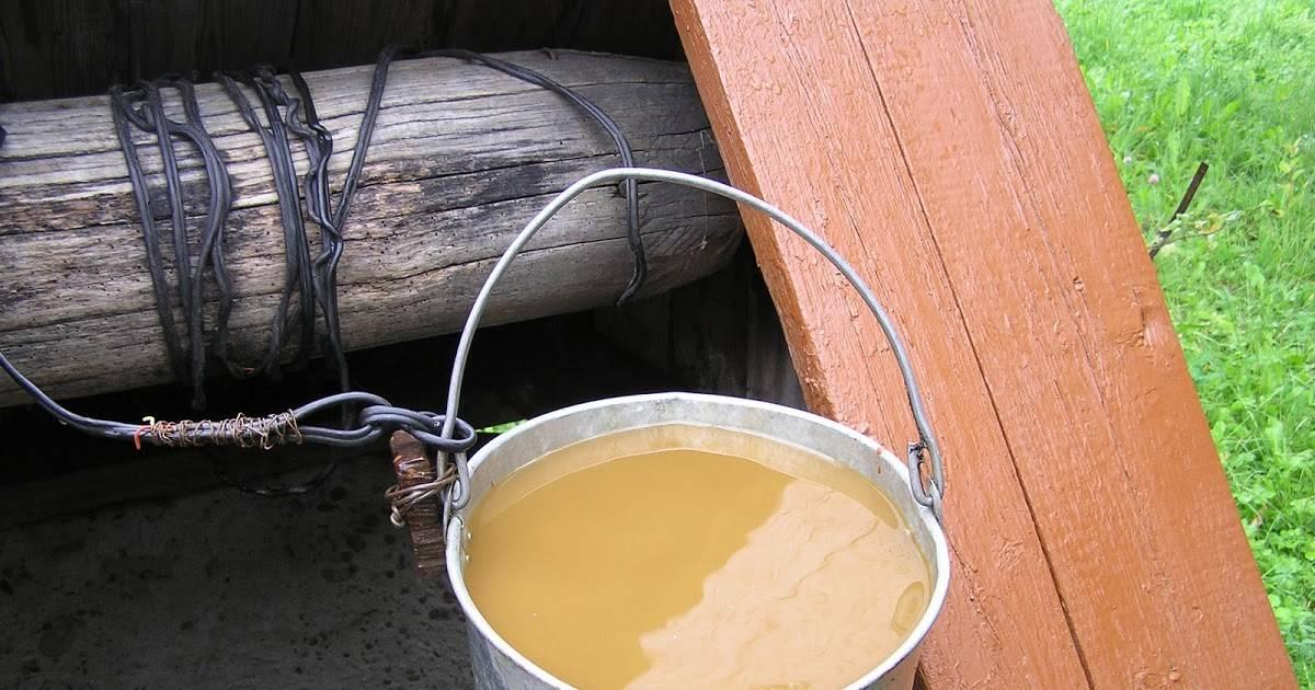 Почему вода в колодце или в скважине стала мутной?