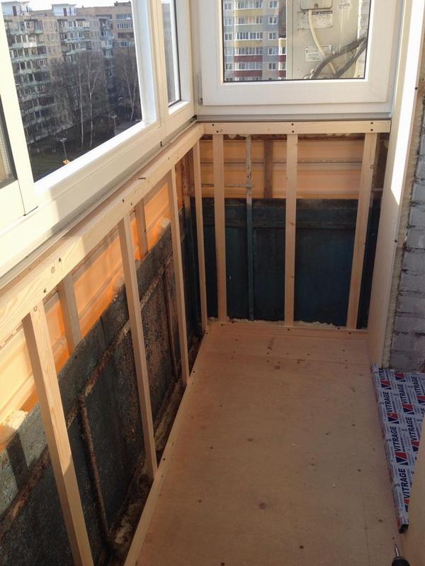 Остекление балкона в хрущевке: как застеклить и сделать внутреннюю отделку