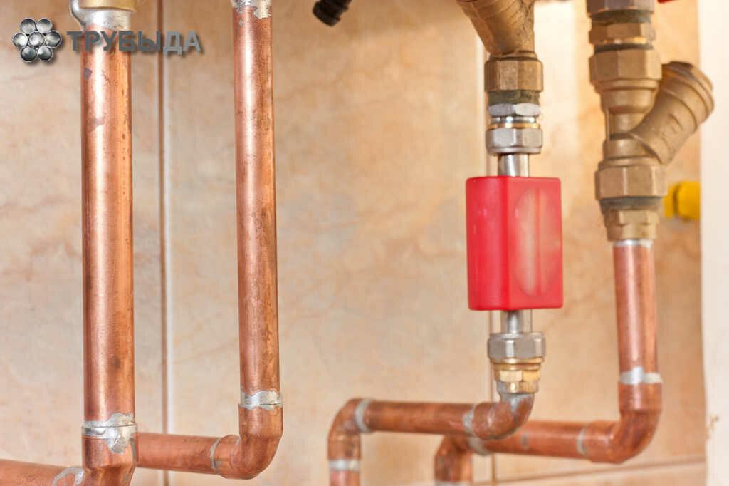 Медные трубы для отопления:цена, особенности, преимущества и недостатки, популярные производители