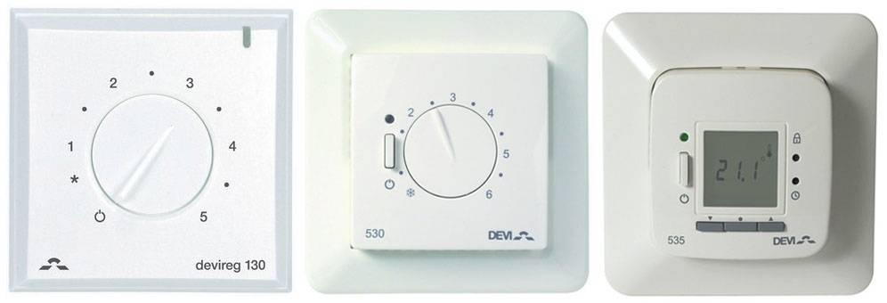 Как правильно установить терморегулятор для теплых полов своими руками - myprofnastil