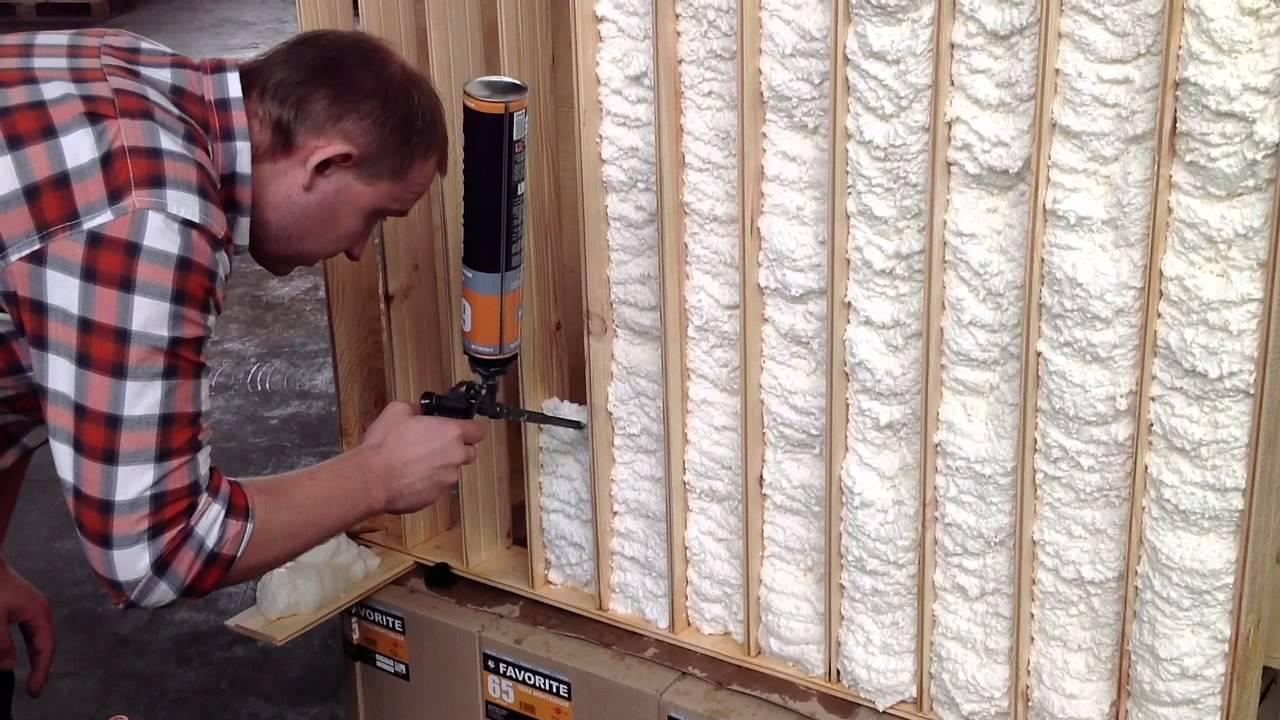 Жидкий утеплитель для стен, пена для утепления, характеристики, способы нанесения