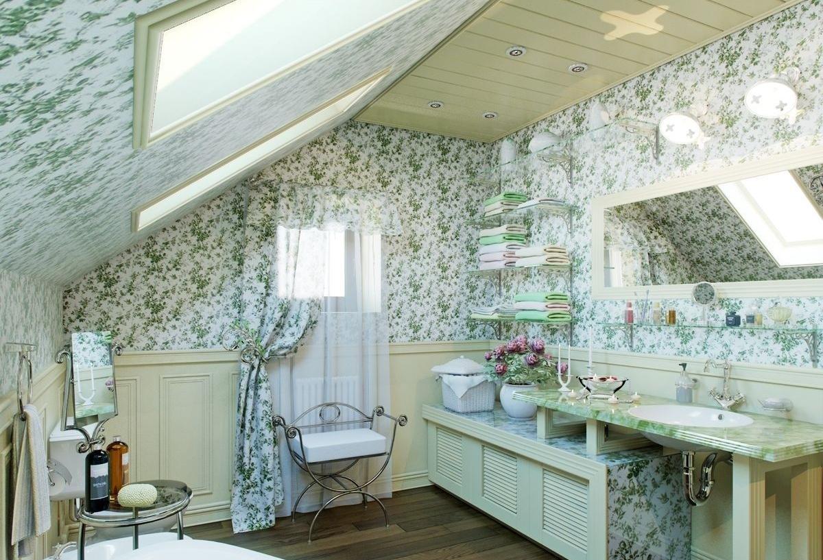 Ванная комната в стиле прованс – очарование юга франции