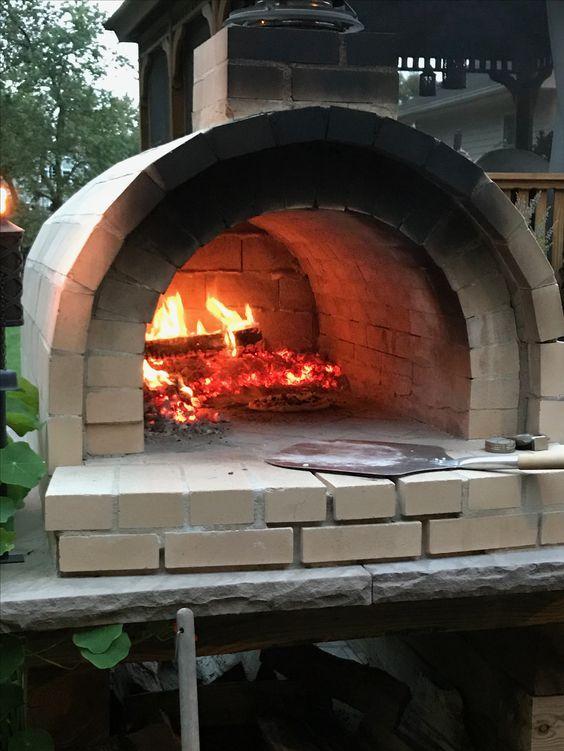Печь для пиццы на дровах, особенности самостоятельного строительства