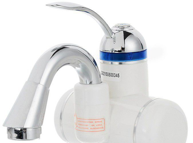 Как это работает: кран мгновенного нагрева воды
