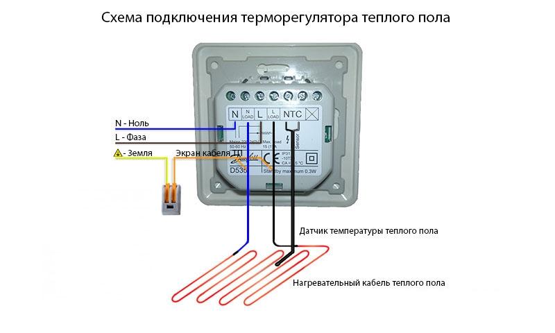 Особенности подключения терморегулятора: механические и электронные термостаты, схемы подсоединения