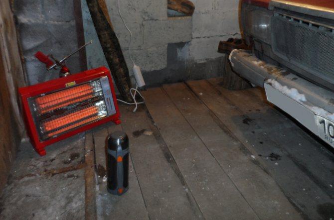 Какими должны быть газовые обогреватели для гаража