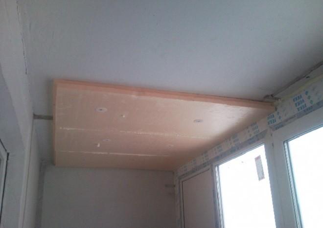 Как утеплить потолок на балконе и лоджии быстро и экономно?