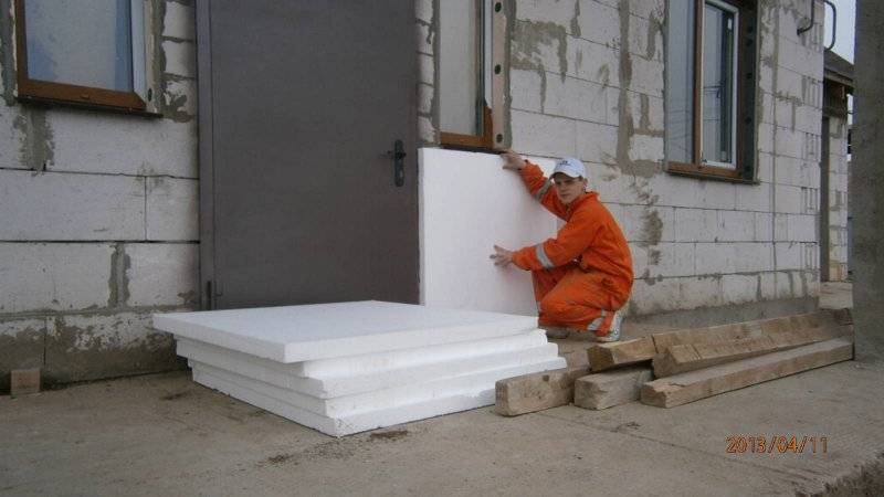 Утепление стен пенопластом — плюсы и минусы
