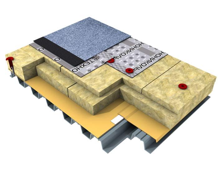 Утепление плоской крыши - все о крышах и кровельных материалах