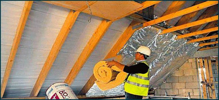 Утеплитель для крыши в рулонах