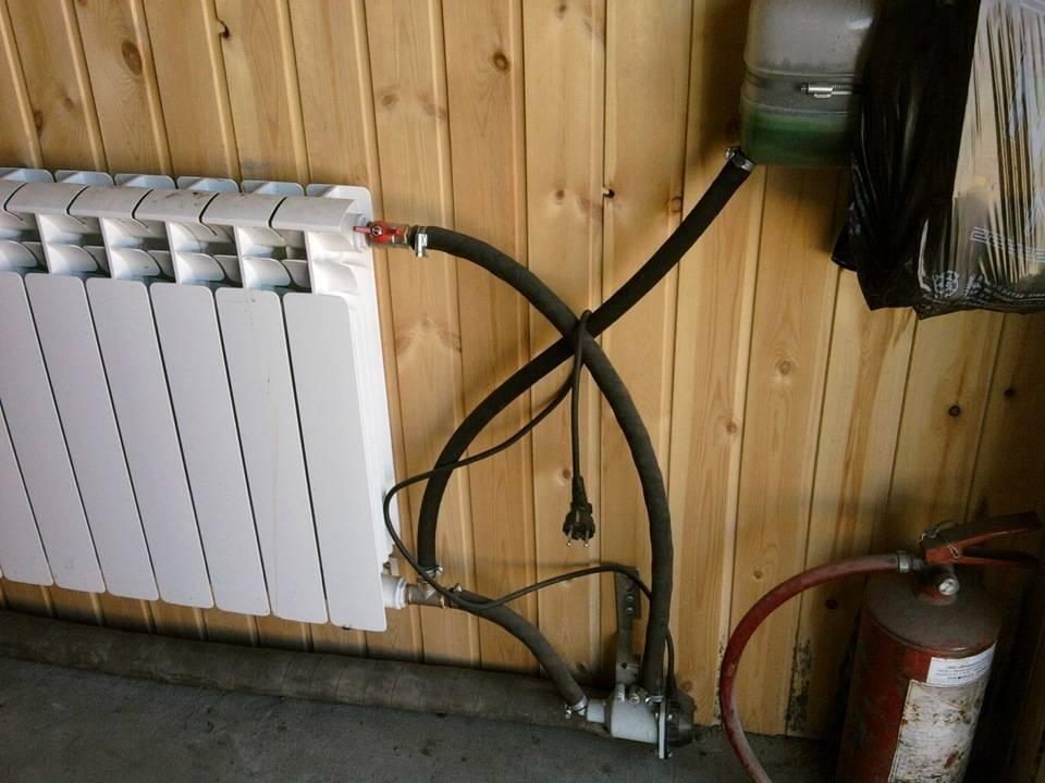 Отопление гаража: самый экономный способ для обогрева помещения