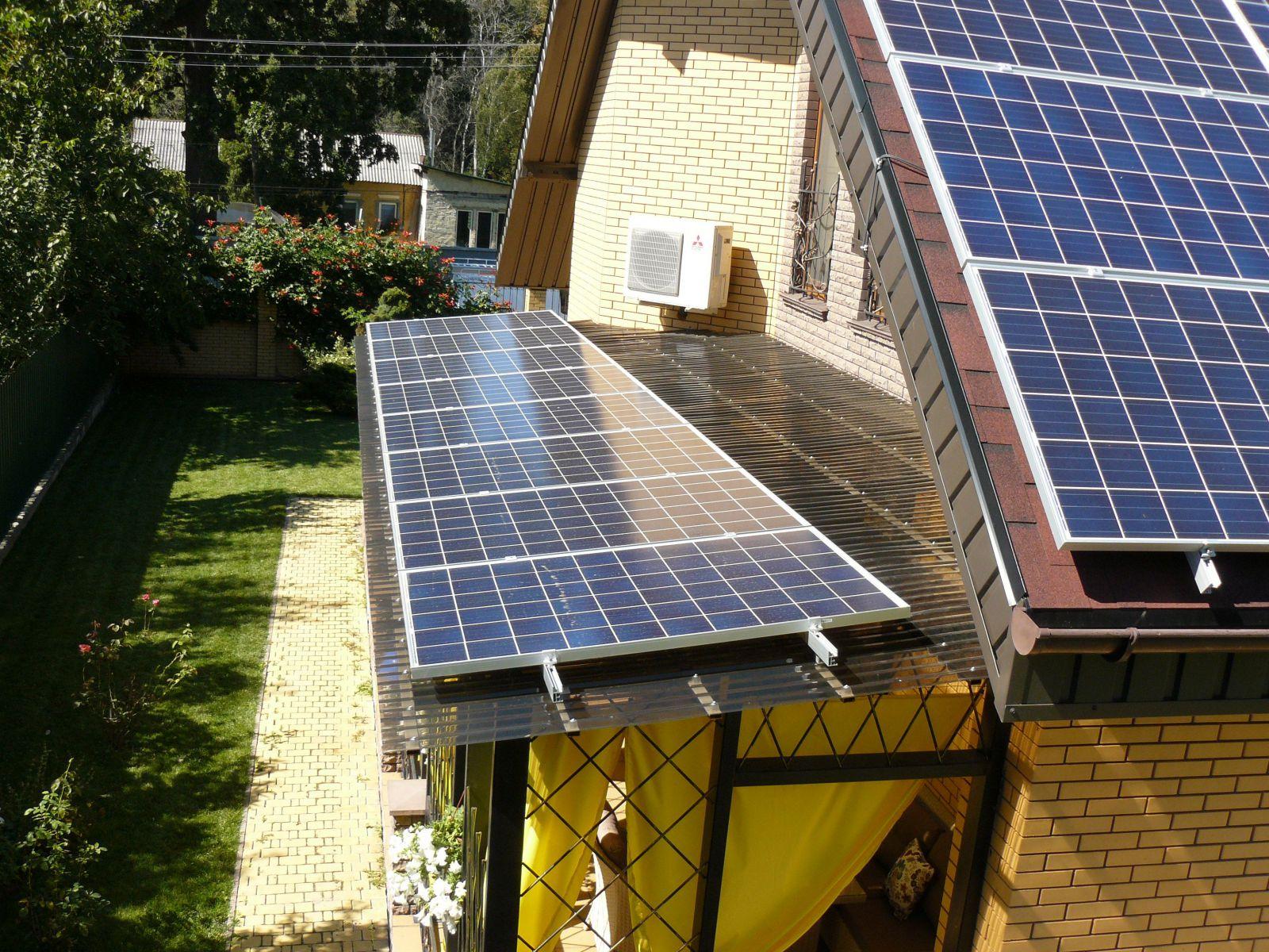 Установка солнечных батарей: установка и монтаж в частном доме