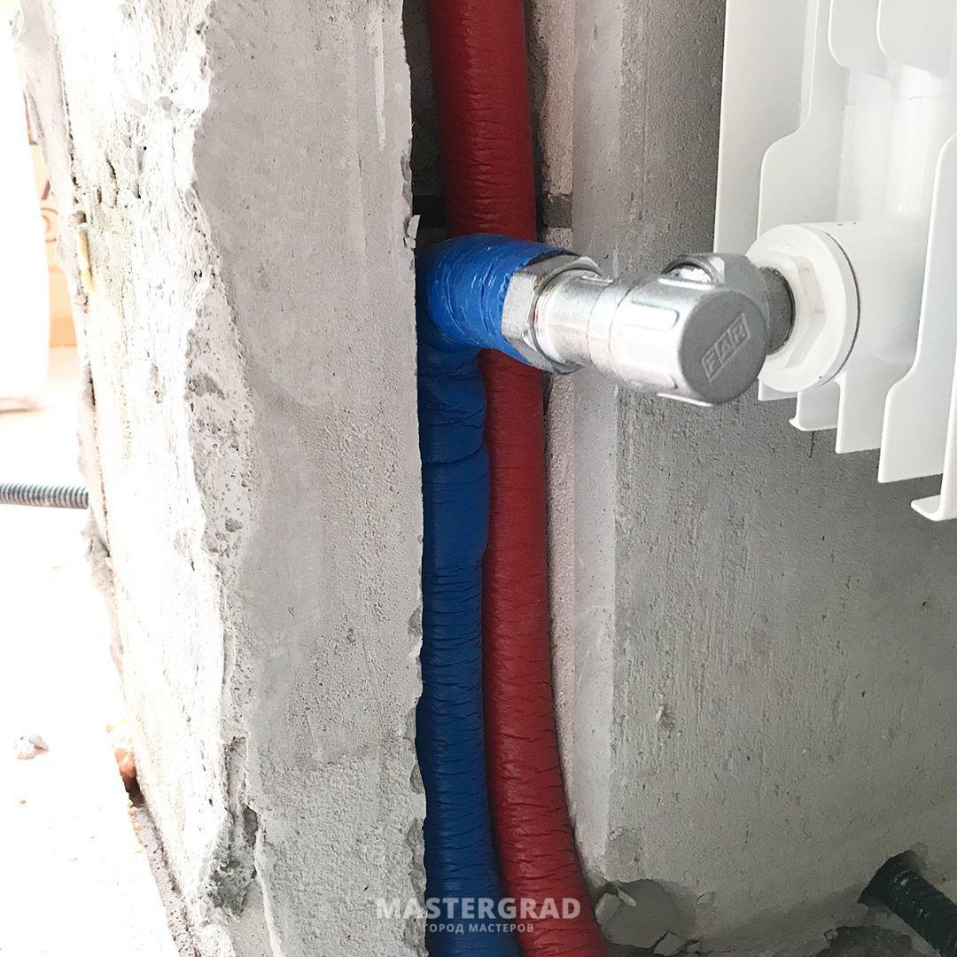 Подключение радиаторов отопления трубами rehau своими руками