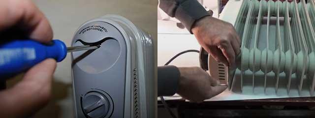 Как ремонтировать обогреватели разных типов