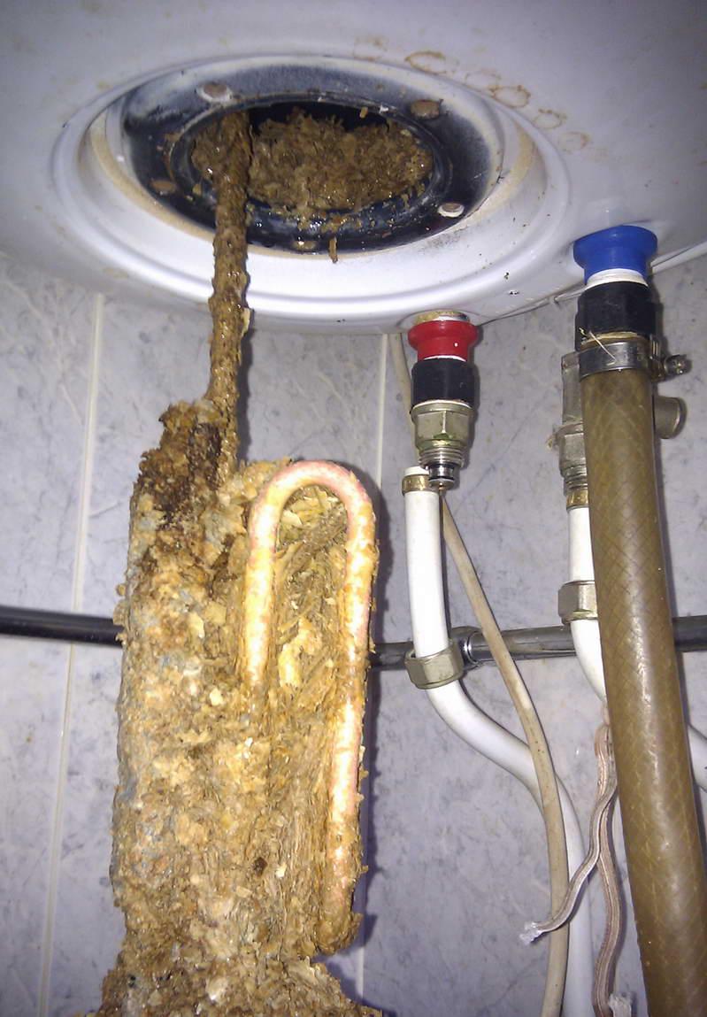 Как почистить газовый котел от накипи | всё об отоплении