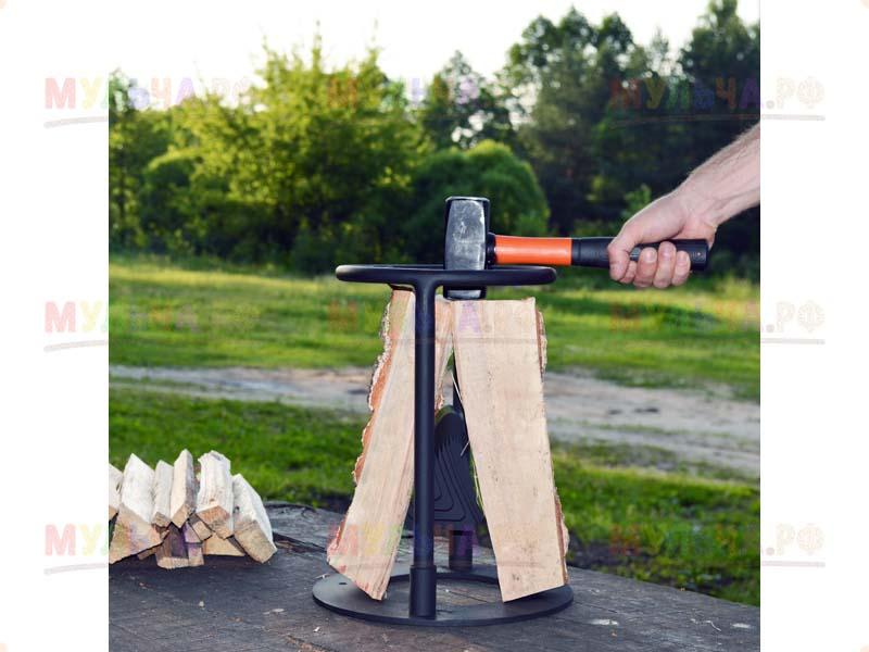 Винтовые дровоколы (30 фото): особенности конусных моделей «морковка» и «шуруп», размеры колунов для дров