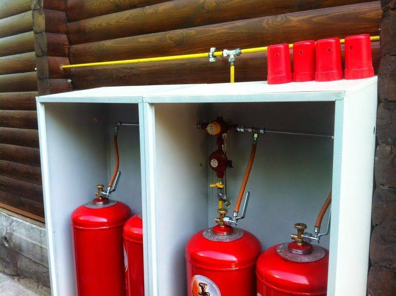 Отопление от газового баллона в частном доме и расход сжиженного пропана для загородного