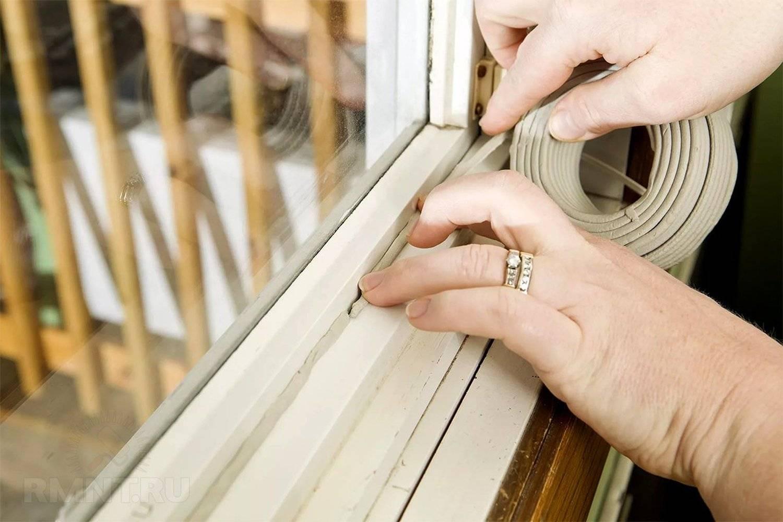 Утепление деревянных окон в квартире