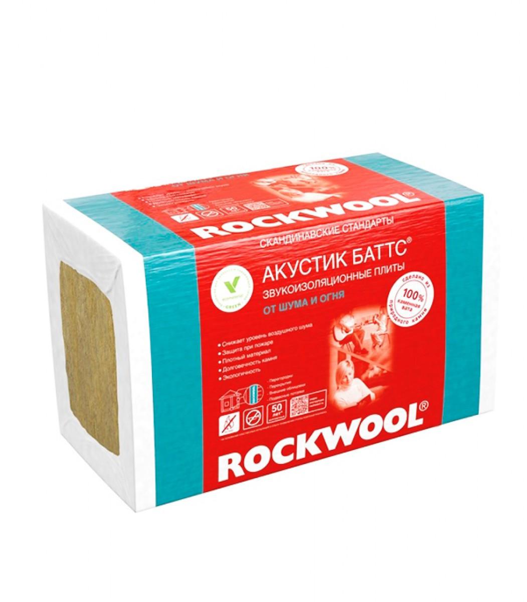 Шумоизоляция rockwool акустик баттс технические характеристики