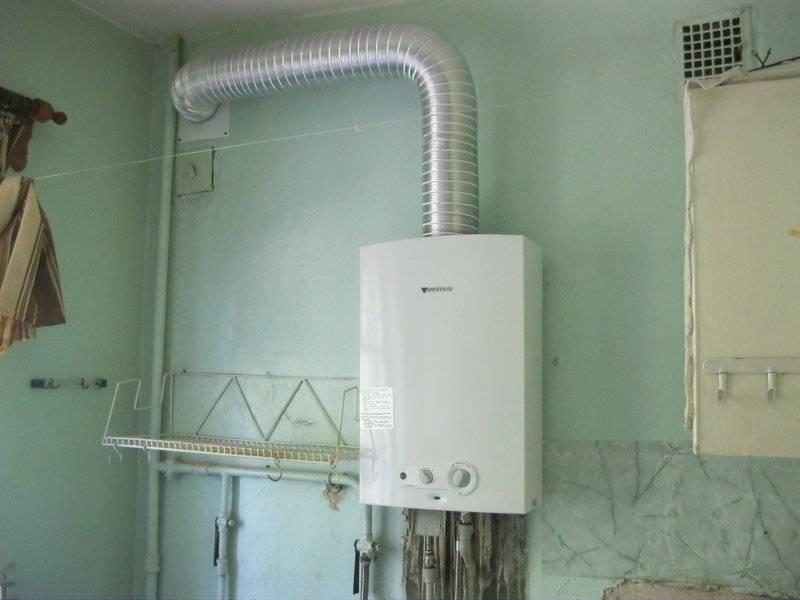 Установка газовой колонки в частном доме — советы экспертов
